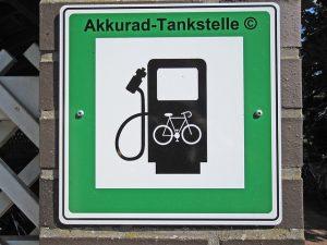 Oplaadpunt elektrische fiets Tirol